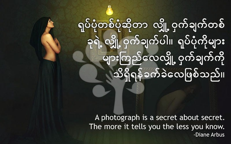 A photograph is a secret about secret. the more it tells you the less you know.